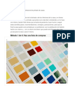 Manual Técnico Semiprofesional de Pintado de Casas