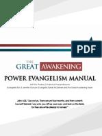 Power Evangelism Manuel