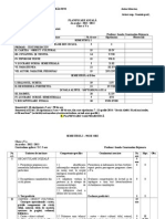 PLANIFICARE ANUAL-é +ÿI CALENDARISTIC-é - CLASA A V-A, EDITURA HUMANITAS, AN +ÿCOLAR - 2013-2014