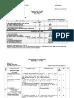 PLANIFICARE ANUAL-é +ÿI CALENDARISTIC-é - CLASA A VI-A, EDP, AN +ÿCOLAR - 2013-2014