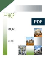 HCP Presentation (June 2011)