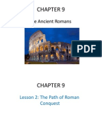 chapter 9- the ancient romans- lesson 2 3