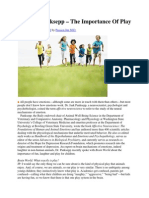 Dr. Jaak Panksepp – the Importance of Play