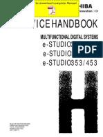 Toshiba-tec Estudio 350 450 352 452 353 453 Service Manual Pages