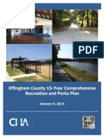 Effingham County, Ga., 15-year recreation plan 01.20.15