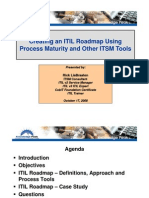 Creating an Itil Roadmap Using Process Maturity and Other1119