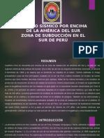 PELIGRO SÍSMICO POR ENCIMA DE LA AMÉRICA DEL.pptx