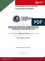 Diseño de Una Red de Datos y de Telefonía Para La Intercomunicación de Establecimientos de Salud 2013