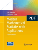 Modern Mathematical Statistics With Applications (2nd Edition)