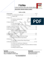 EMT Formula Sheet BSc Level