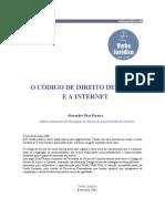 Codigo de direito autor e a internet - Alexandre Pereira