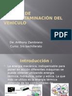Sistema de Anticontaminación Del Vehículo
