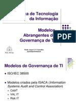 Modelos Abrangentes de Governança de TI