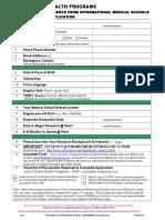 Intl Medical Student Applicationform Research 07032013