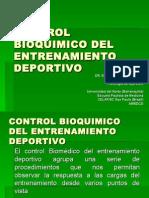 Control Bioquimico Del Entrenamiento Deportivo