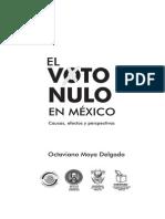 El Voto Nulo en Mexico