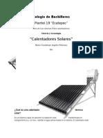 Qué Es Una Calentador Térmico Solar