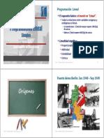 03 1 PPL Simplex Interpretación Geométrica