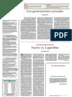 Narro vs Lujambio