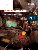 ESA_caves, Training for Space