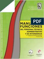 Manual de Funciones Del Personal Tecnico, Administrativo y de Intendencia