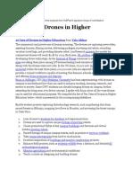 10 Uses of Drones in Higher Education [Slideshare] Vala Afshar.docx