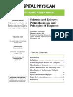 Epilepsy Principles and Diagnosis
