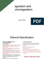 1 IGCSEMagnetismElectromagnetism