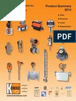 KOBOLD USA 2014 Product Summary