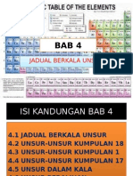 BAB 4- Jadual Berkala Unsur