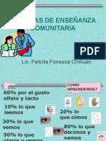 tcnicasdeenseanzacomunitaria-110709212132-phpapp01
