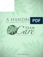 Team Care Handbook Supplement 2012-13