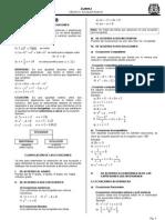 Ecuaciones de 1º Grado