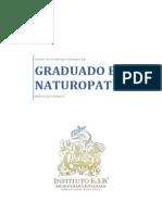 Programa Graduado en Naturopatía