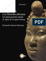 Introduccion a La Filosofia Africana