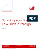 Raleigh Survival Guide Fall 2014