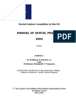 Dental Liaison Committee in the EU