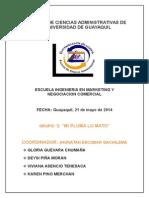 Facultad de Ciencias Administrativas de La Universidad de Guayaquil Derecho II (1)