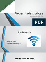 Redes Inalambricas - Sesión 1