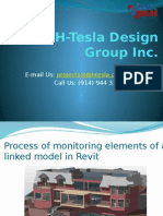 Process of Monitoring Elements of a Linked Model in Revit