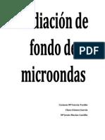 Radiacion de Fondo de Microondas