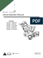 Ariens ST924 Manual