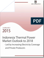 Indonesia Thermal Power Market Outlook 2014-2018