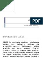 Obiee Online Training