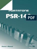 Yamaha PSR 140 Manual