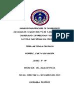 OPERATIVA METODO ALGEBRAICO