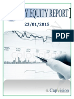 Daily Equity Report 23-01-2015