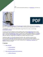 Transformer - Electrical Machine