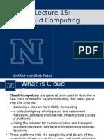 Lect15 Cloud computing