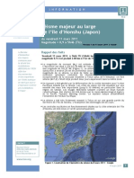 IRSN Seisme Japon V1 11032011